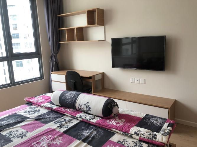 Phòng ngủ Diamond Island Quận 2 Căn hộ Đảo Kim Cương nội thất đầy đủ, view nội khu.