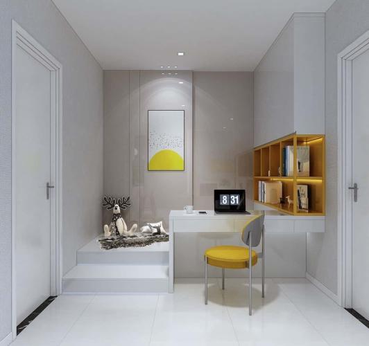 nhà mẫu Ricca Căn hộ tầng trung Ricca thoáng mát, nội thất cơ bản.