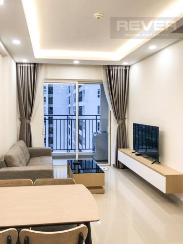 Phòng Khách Cho thuê căn hộ Sunrise Riverside 2PN, tầng trung, diện tích 70m2, đầy đủ nội thất
