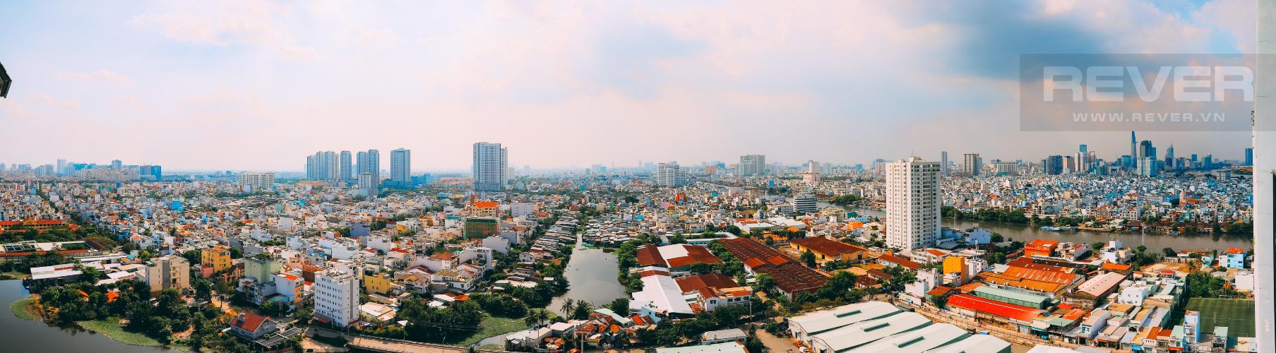 View Căn hộ M-One Nam Sài Gòn tầng cao 3PN nội thất đầy đủ, có ban công