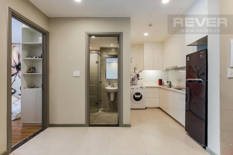 Phòng Bếp Căn hộ The Gold View 1 phòng ngủ tầng cao A3 đầy đủ nội thất