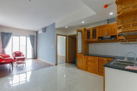 Căn hộ Jamona City 2 phòng ngủ tầng cao M4 đầy đủ nội thất