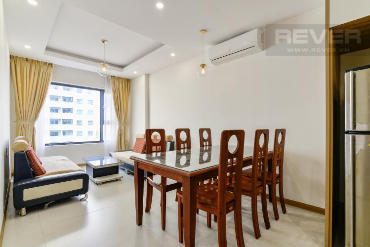 Phòng Khách Cho thuê căn hộ New City Thủ Thiêm hướng Đông Bắc, gồm 1PN 1WC, view sông