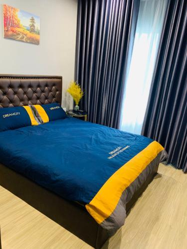 phòng ngủ  căn hộ Vinhomes Grand Park Căn hộ Vinhomes Grand Park có 1 phòng đa năng, không có nội thất.