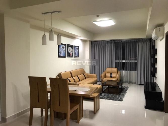 Phòng khách The Eastern, Quận 9 Căn hộ The Eastern tầng trung, hướng Nam đón view thoáng mát.