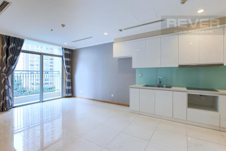 Phòng Khách Căn hộ Vinhomes Central Park 1 phòng ngủ tầng thấp Central 2