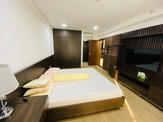 Phòng ngủ căn hộ Scenic Valley, Quận 7 Căn hộ Scenic Valley view tầng cao thoáng mát, đầy đủ tiện nghi.