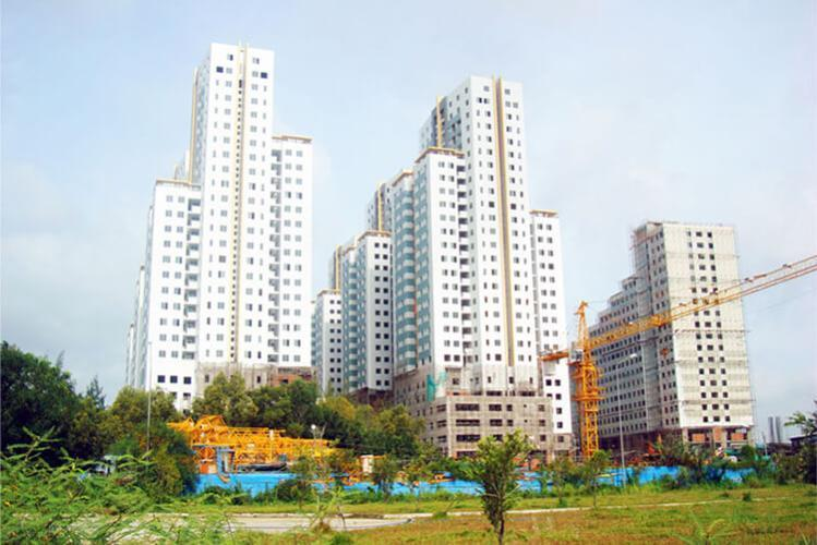 Belleza Apartment, Quận 7 Căn hộ Belleza Apartment tầng trung, ban công hướng Nam thoáng mát.