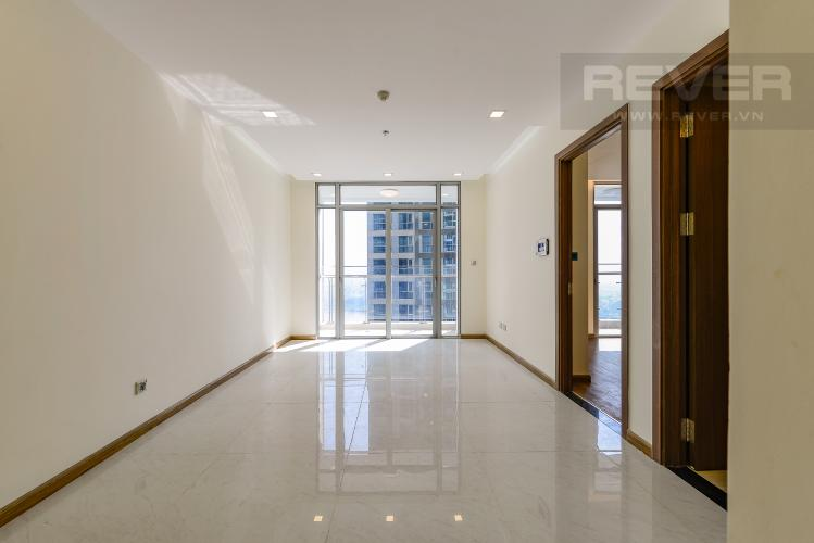 Phòng khách Officetel Vinhomes Central Park 1 phòng ngủ tầng trung P7 hướng Đông Bắc