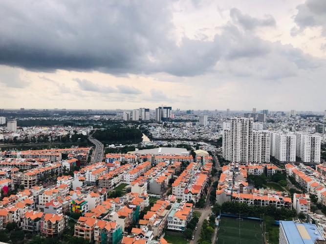 View căn hộ Sunsire City Căn hộ Sunrise City khu North ban công lớn view thành phố thoáng mát.
