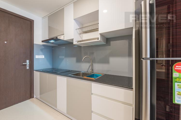 Bếp Căn hộ The Tresor 1 phòng ngủ tầng thấp TS1 nội thất đầy đủ