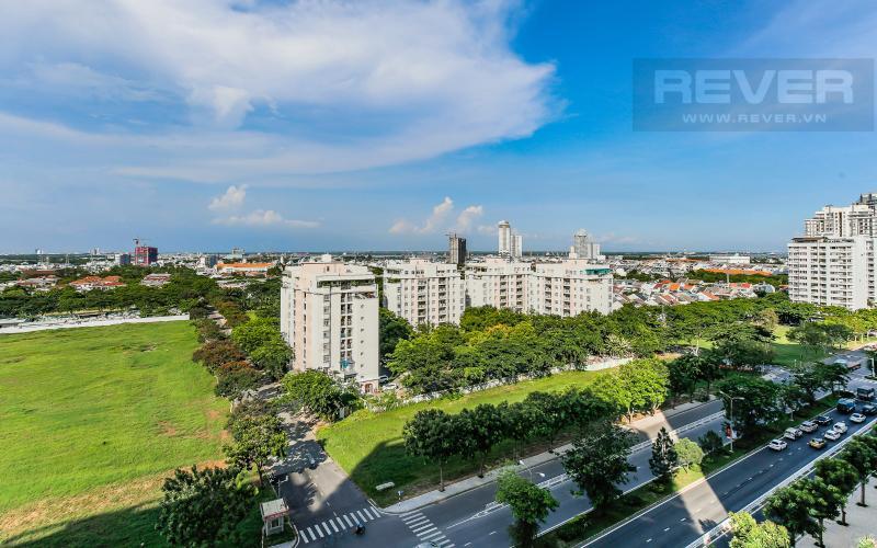 View Căn hộ Happy Residence 2 phòng ngủ tầng trung tháp B nội thất đầy đủ