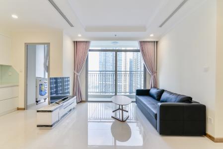 Căn hộ Vinhomes Central Park 3 phòng ngủ tầng cao L5 nội thất đầy đủ