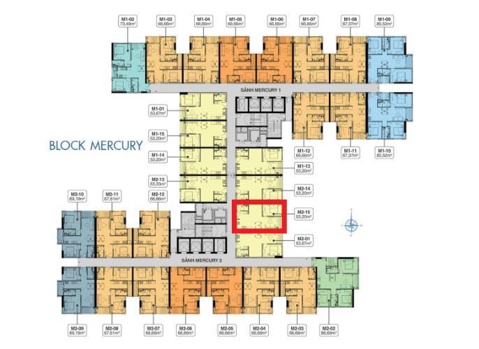 Layout tầng Q7 Saigoon Riverside Bán căn hộ Q7 Saigon Riverside nội thất cơ bản, view đường phố nội khu