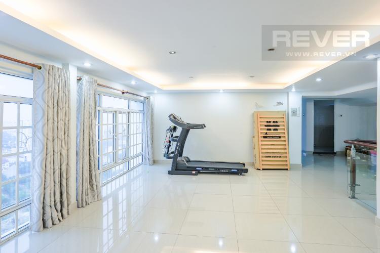 Phòng Gym Căn hộ Phú Hoàng Anh 4PN có tầng lửng, đầy đủ nội thất