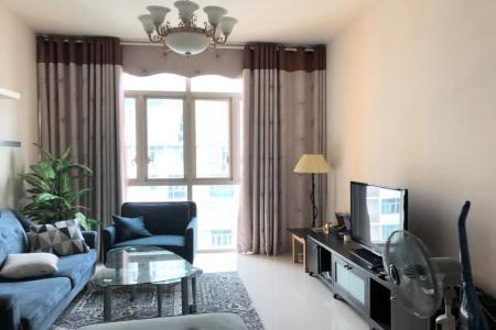 Cho thuê căn hộ The Vista An Phú 2PN, tầng cao, đầy đủ nội thất, view hồ bơi nội khu