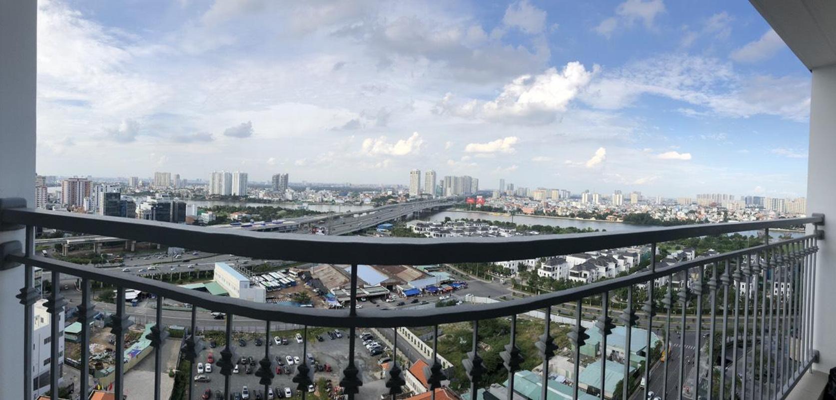 9d5aa42d52a5b5fbecb4 Bán căn hộ Vinhomes Central Park 2PN, diện tích 84m2, đầy đủ nội thất, view thành phố