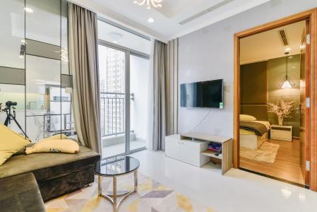 Căn hộ Vinhomes Central Park 2 phòng ngủ tầng trung L3 nội thất đầy đủ