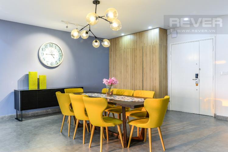 Phòng Ăn Penthouse Saigon Pearl tháp Sapphire diện tích 221m2 full nội thất