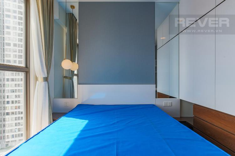 Phòng Ngủ 3 Bán căn hộ Masteri Millennium tầng cao, block B, 3PN đầy đủ nội thất