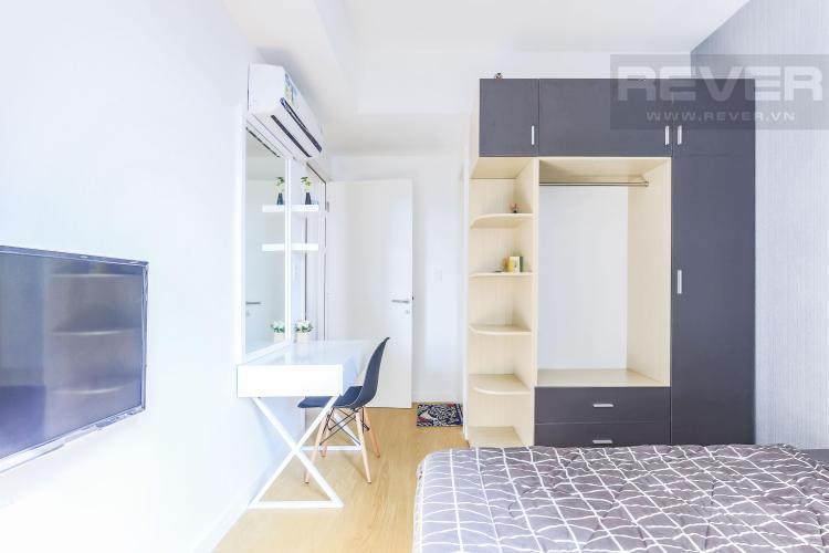 Nội thất phòng ngủ 1 Cho thuê căn hộ Masteri Thảo Điền 2PN, tầng cao, tháp T2A, đầy đủ nội thất, hướng Tây Bắc