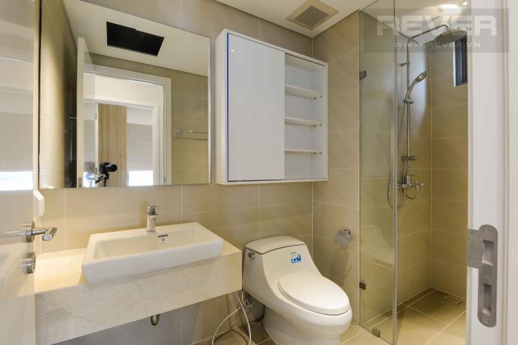 Toilet Cho thuê căn hộ Diamond Island - Đảo Kim Cương 1PN, tầng trung, tháp Canary, view sông thoáng mát