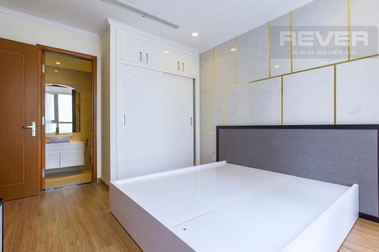 Phòng Ngủ 2 Căn hộ Vinhomes Central Park 2 phòng ngủ tầng cao Landmark 3 đầy đủ tiện nghi