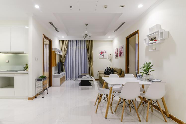 Căn hộ Vinhomes Central Park 3 phòng ngủ tầng thấp L1 đầy đủ nội thất