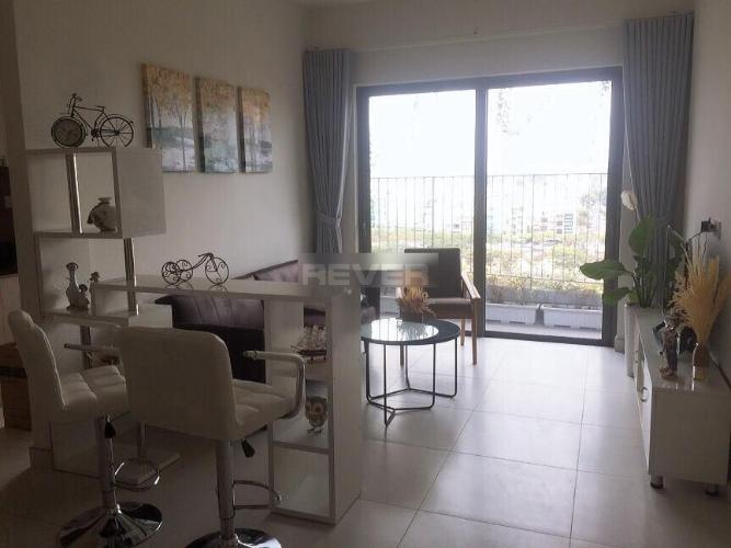phòng khách Căn hộ Diamond Lotus Căn hộ Diamond Lotus nội thất đầy đủ, view sông kênh Bến Nghé.