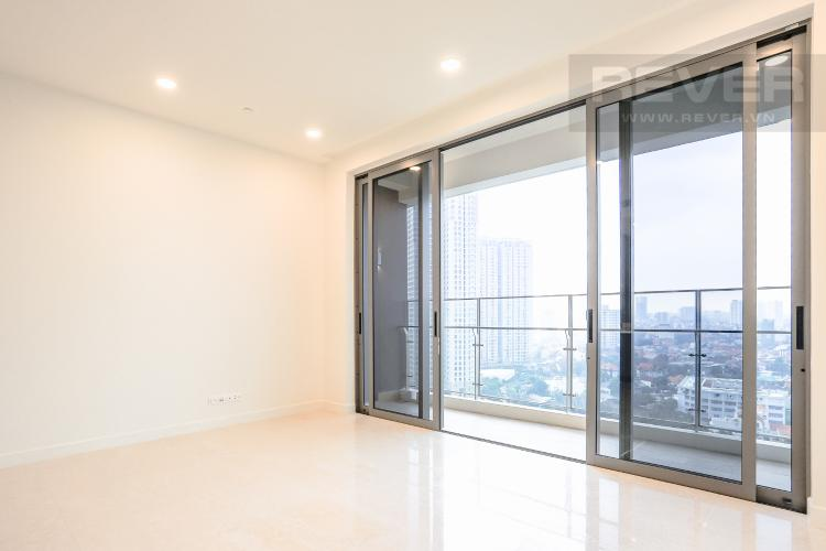 Phòng Khách Bán căn hộ The Nassim Thảo Điền tầng cao, 2PN, view sông