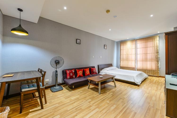 Cho thuê căn hộ The Lancaster tầng trung, 1PN, đầy đủ nội thất