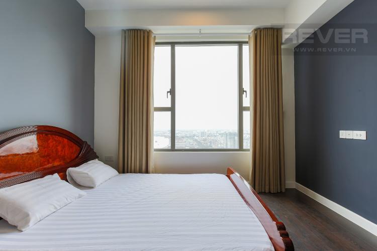 Phòng Ngủ 2 Cho thuê căn hộ The Tresor tầng cao, 3PN, view sông Sài Gòn