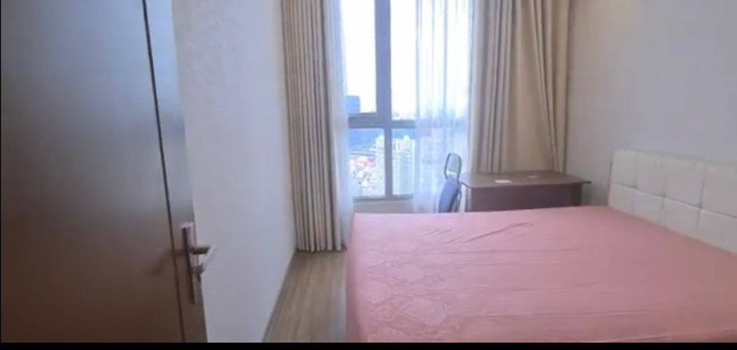 Phòng ngủ Vinhomes Central Park Căn hộ Vinhomes Central Park tầng cao, bàn giao nội thất đầy đủ