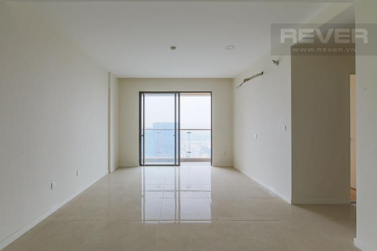 Phòng Khách Bán căn hộ Masteri Millennium tầng cao, view sông 2PN
