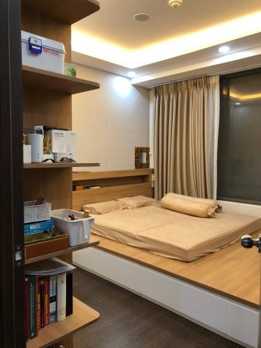 Phòng ngủ căn hộ The Tresor Căn hộ The Tresor thiết kế hiện đại, view sông thoáng mát