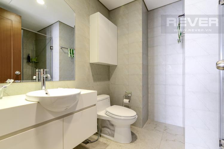 Phòng Tắm 1 Căn hộ Vinhomes Central Park tầng cao, tháp Landmark 2, 3PN đầy đủ nội thất