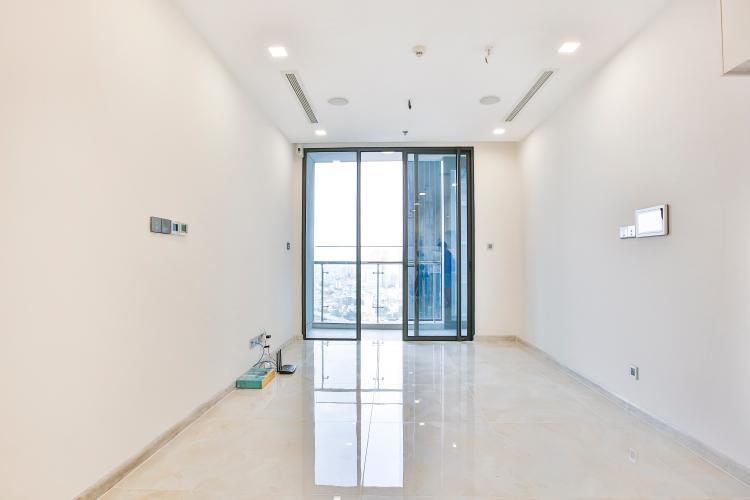 Phòng Khách Officetel Vinhomes Golden River 1 phòng ngủ tầng cao A2 nhà trống