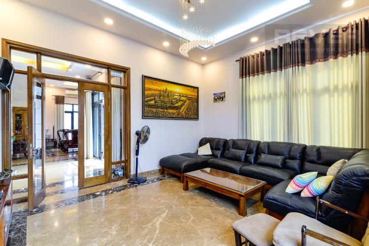 Phòng Sinh Hoạt Bán biệt thự Thạnh Xuân Quận 12, diện tích lớn, đầy đủ nội thất