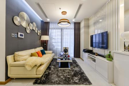 Bán căn hộ Vinhomes Central Park tầng trung 3PN đầy đủ nội thất view sông