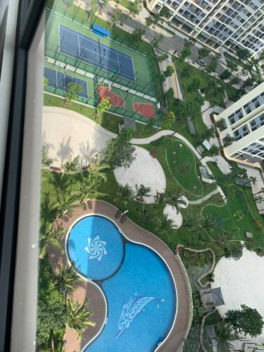 Tiện ích Vinhomes Grand Park Quận 9 Căn hộ Vinhomes Grand Park view nội khu hồ bơi, thiết kế hiện đại.