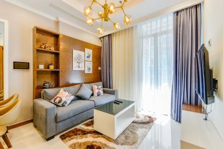 Cho thuê căn hộ Vinhomes Central Park tầng cao 1PN đầy đủ nội thất