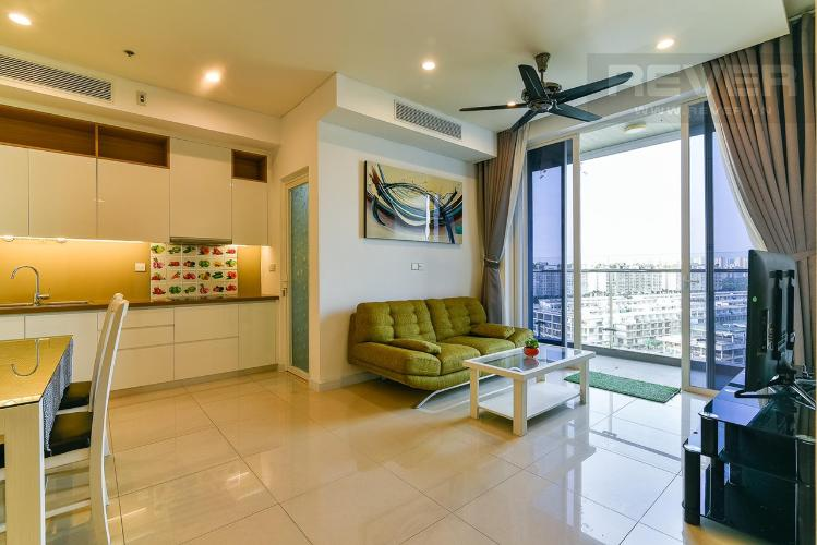 Phòng khách Sarimi Sala Đại Quang Minh, Quận 2 Căn hộ Sarimi Sala Đại Quang Minh tầng trung, nội thất đầy đủ.