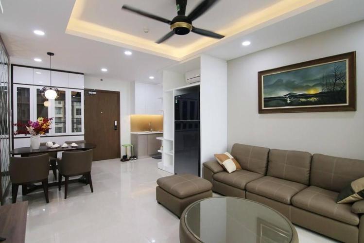 Bán căn hộ 3 phòng ngủ Masteri Millennium, tầng cao, đầy đủ nội thất, view Bitexco