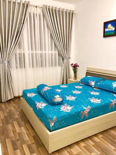 Phòng ngủ căn hộ FLORITA Q7 Bán căn hộ Florita 2 phòng ngủ, tầng 16, diện tích 58m2, đầy đủ nội thất