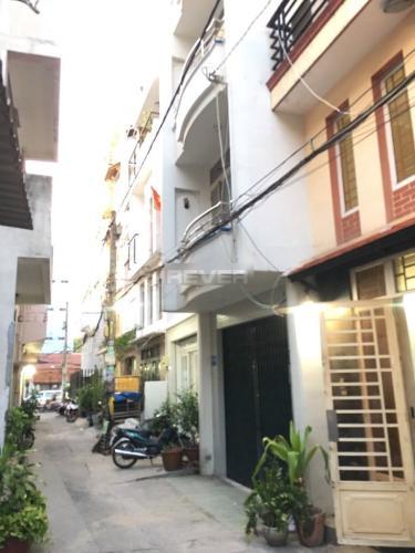 Hẻm nhà phố Nhà phố hướng Đông Nam diện tích sử dụng 120m2, hẻm xe máy.