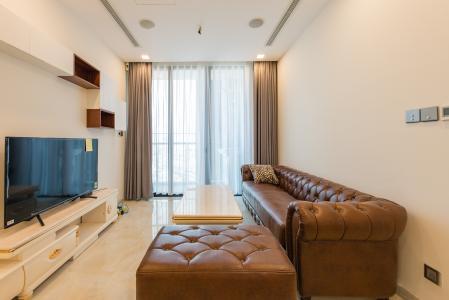 Căn officetel Vinhomes Golden River tầng cao, view đẹp, nội thất đầy đủ