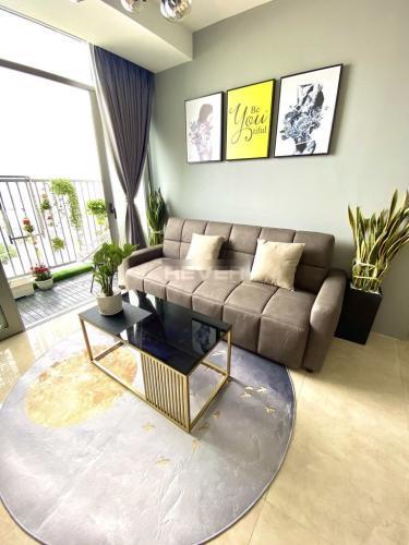 Căn hộ Luxcity đầy đủ nội thất tiện nghi, view thành phố thoáng mát.