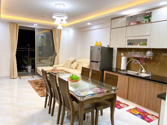 Nhà bếp  Saigon South Residence Căn hộ Saigon South Residence tầng cao, đầy đủ nội thất, view nội khu.