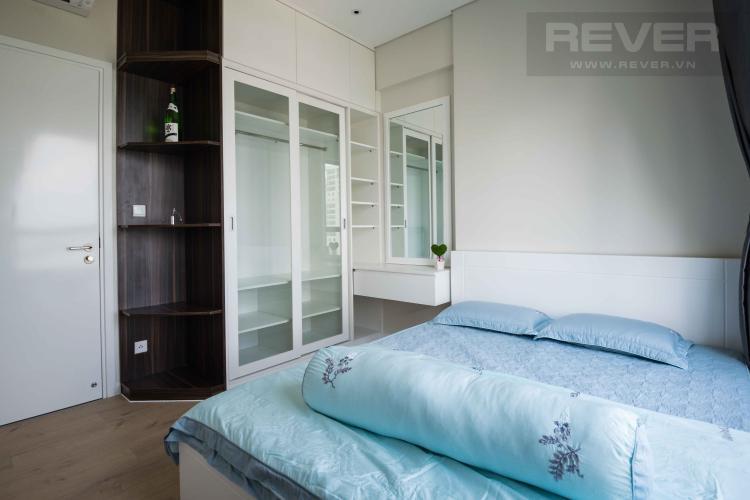 Phòng Ngủ Cho thuê căn hộ officetel Diamond Island - Đảo Kim Cương tháp Canary, đầy đủ nội thất, view sông thoáng mát