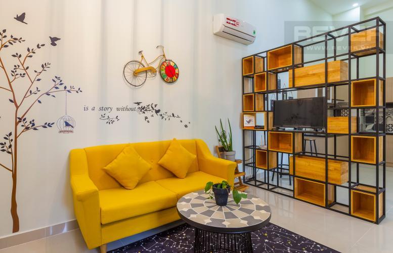 Phòng khách Căn góc La Astoria Quận 2 có lửng, tầng cao, đầy đủ nội thất